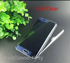 FULL COVERED CURVED 3D TEMPERED GLASS SCREEN PROTECTOR FR SAMSUNG GALAXY S6 EDGE