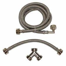 Ez-Flo 41025 Steam-Dryer Installation Kit, Stainless Steel Hose