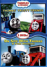 NEW!! Thomas  Friends: Thomas Trusty Friends/On Site with Thomas (DVD, 2015)