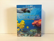 Fascination Coral Reef 3D: 3 Film Collection (Blu-ray Disc, 2013, 3D/2D)