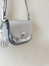 MONSOON ACCESSORIZE GEM TASSEL SADDLE   ACROSS BODY BAG HAND BAG  NEW!