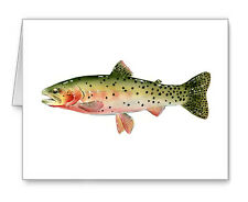 Cutthroat Trout note cards by watercolor artist Dj Rogers