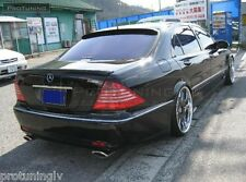 Mercedes Benz S-Class W220 Spoiler Lorinser Trunk REAR Heck lip Wing MB Boot AMG