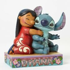 Disney Traditions Lilo and Stitch Ohana Means Family Statue New