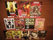 Iron Fist The Living Weapon 1-12! A NM full run 1st Print set in Mylar 12 HD pix