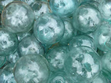 "Japanese Glass Fishing FLOATS 2"" LOT-30 Netted Display Tiki Bridal Pool Decor"