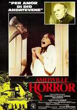 Amityville Horror 1979 Poster 02 A3 Box Canvas Print
