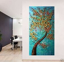 MODERN ABSTRACT HUGE WALL ART OIL PAINTING ON CANVAS(No Frame)