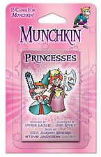 Munchkin Princesses Card Game Expansion Adds 15 Cards Steve Jackson Booster