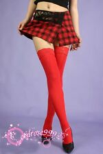top Lace red Thigh High Stockings LINGERIE tights hosiery  468
