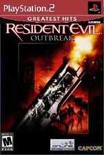 Resident Evil: Outbreak [PlayStation 2 PS2, Survival, Terror, Capcom] Brand NEW