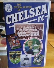 "Vhs Video Tape ""The official history of Chelsea fc"""