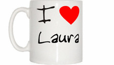 I Love Heart Laura Mug