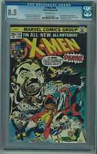 X-MEN #94 CGC 8.5 NEW X-MEN BEGIN OFF-WHITE PAGES BRONZE AGE