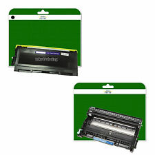 1x Toner + Drum for Brother DCP-7055 DCP-7055W  non-OEM TN2010 / DR2200
