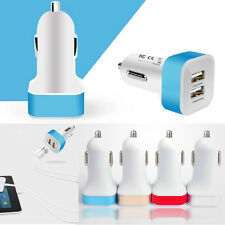 Universal Car Charger Adaptor Dual Mini USB 2-Port For iPhone/Samsung/iPad/Phone
