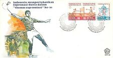 Indonesia FDC first day cover 1978  BADMINTON sport