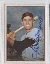 Jim Davenport TCMA The 60's signed autographed auto card Giants
