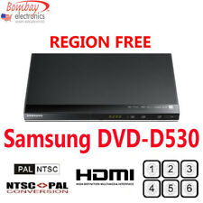 Samsung DVD-D530 Multi Region Free DVD Player - 1080p HDMI - PAL-NTSC