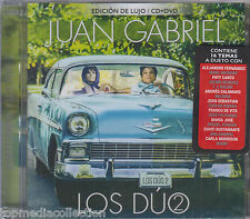 Juan Gabriel CD / DVD Los Duo VOL 2 EDICION DE LUJO (Universal) Ships Today !