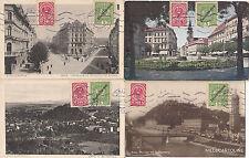 * AUSTRIA - Graz - 4 Postcards - 5 Heller Deutschösterreich (December 1919)