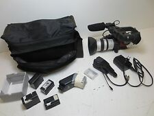 Canon DM-XL1A 3CCD Digital Video Camcorder Video Camera w/ Accessories