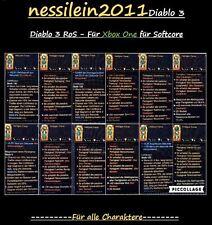 Diablo 3 ros xbox one-mod-item set-toutes les capacités passive-soft