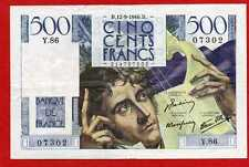 ( Ref: Y.86) 500 FRANCS CHATEAUBRIAND 12/09/1946 (SUP)