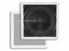 "Monoprice 10"" In-Wall Subwoofer (Passive) 4928 Subwoofer NEW"