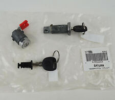 New Factory OEM Gm Lock And Key Cylinder Door Ignition Set With Cut Keys