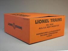 BOX ONLY LIONEL ALCo US NAVY FREIGHT X628 train set army box empty 6-38353-BOX