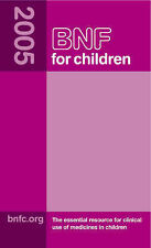 British National Formulary for Children 2005,VERYGOOD Book