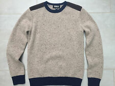 "Men's lambswool jumper/sweater. Brooklyn Industries, New York. Size XS/36"" chest"