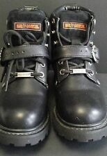 HARLEY-DAVIDSON WOMEN'S MOTORCYCLE RIDING BOOTS FADED GLORY 81024  Black Size 6