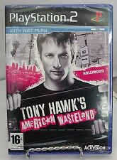 """PAL""  PLAYSTATION 2 - TONY HAWK'S AMERICAN WASTLAND .New sealed"