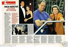 Coupure de presse Clipping 1991 (4 pages) Rick Hunter Fred Dryer