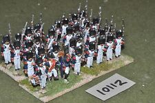 25mm napoleonic 32 french infantry figures (10112)