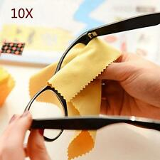 10x Microfiber Phone Screen Camera Lens Glasses Cleaner Cleaning Cloth Duster UP