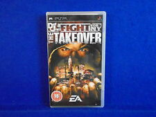 psp DEF JAM Fight For NY The Takeover Playstation PAL UK ENGLISH VERSION