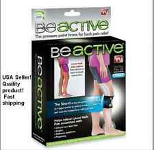 New BEACTIVE PRESSURE POINT BRACE FOR BACK PAIN AS SEEN ON TV - BE ACTIVE