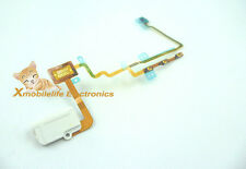 Power On/off Volume Button Lock Switch Flex Cable fr iPod Nano 7th 7G White 16GB