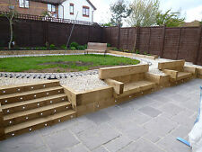 CONCRETE GARDEN & PAVING SLABS - 4 SIZE BUNDLE DEAL 38mm thick