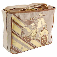 Scooter Satchel Bag. Retro MOD Style Vespa Moped Unusual Gift