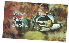 Palau - Marine Life, Coral Reef Snakes, 2015 - S/S MNH