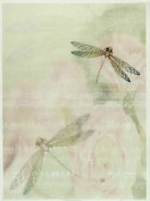 Printed Translucent/Vellum Scrapbook  Paper A/4 Dragonfly