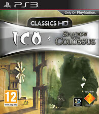 Ico & Shadow of the Colossus Hd Ps3 Perfetta 1a Stampa Italiana con Manuale