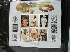 The Princess Diana Collection ~ Stamp Collection ~ Mystic Stamp Company ~ 1961-7