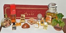 Lot of Vintage Perfume and Mini Bottles Givenchy Gres Caron Lancome Arden Etc