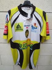 Maillot rugby porté ASC CARCASSONE XIII Shemsy n°8 XXL match worn shirt