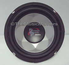 "One 6.5"" inch 6 1/2"" 4 ohm Car Audio Sound Chrome Woofer Subwoofer Bass Speaker"